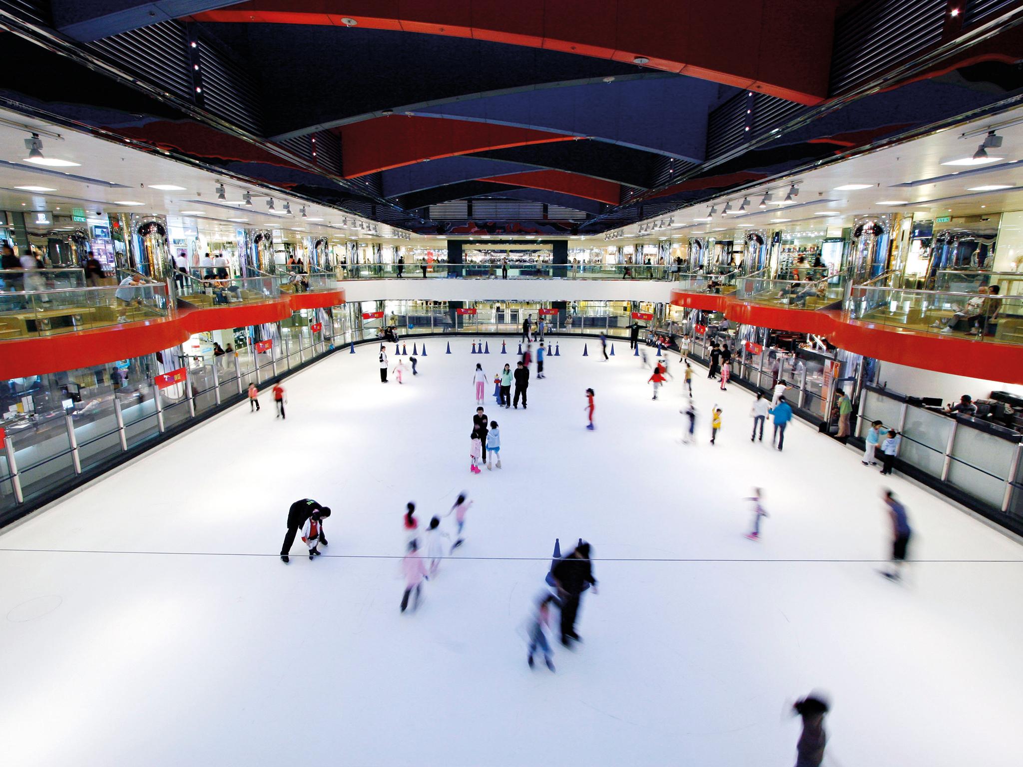 Hong Kong's best ice skating rinks