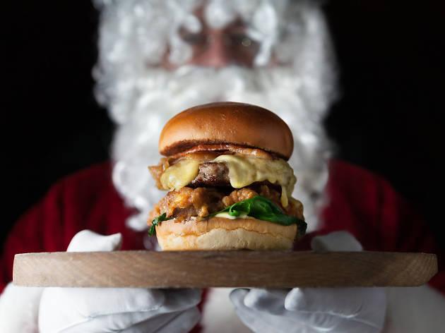Ten of the best Christmas burgers in London