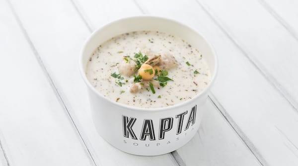 Kapta Soupasta'nın yuvalama çorbası