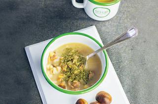 SO UP'ın sütlü kestane çorbası