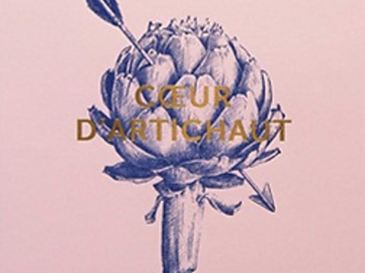 Une affiche cœur d'artichaut de Nadja Carlotti