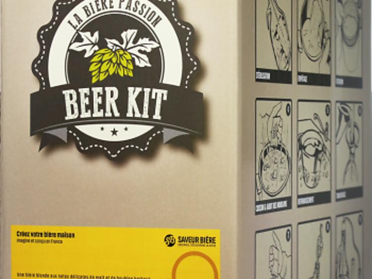 Un kit de brassage pour faire sa bière à la maison
