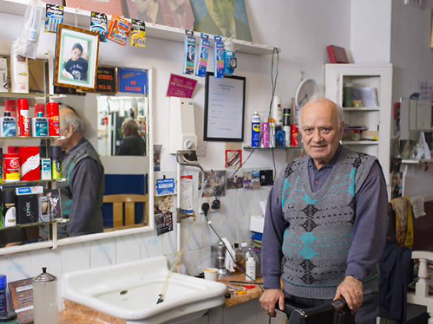 'In the '70s we were scared to go out at night': barber Vangelos Georgiou on his 46 years in Bermondsey