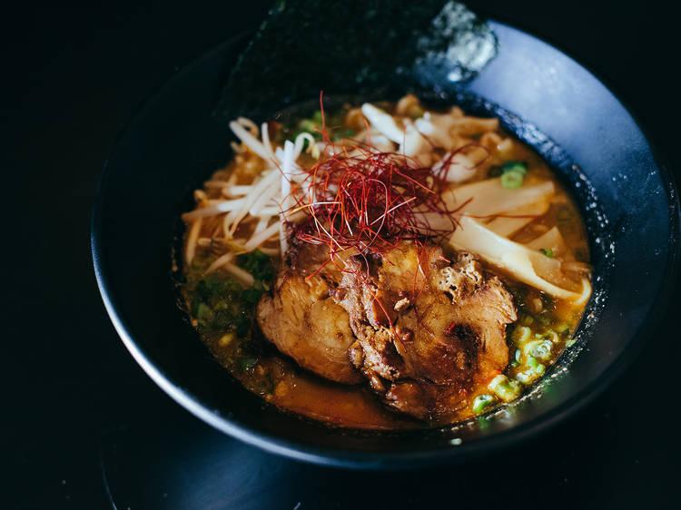 Spicy miso ramen at Ramen Room