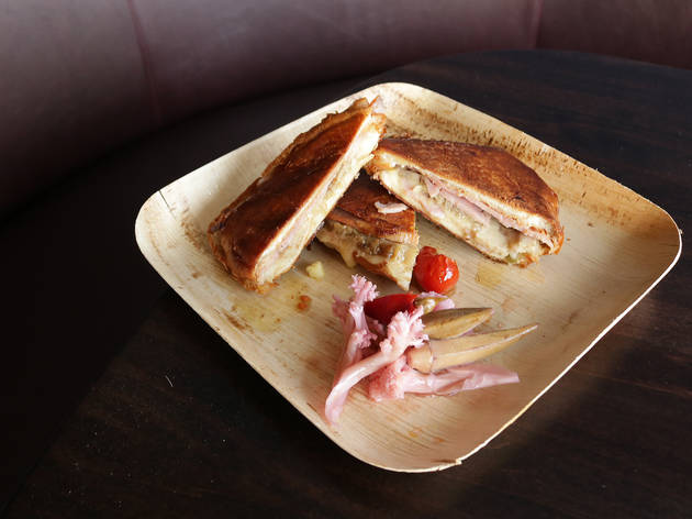 Cuban sandwich at Tabula Rasa