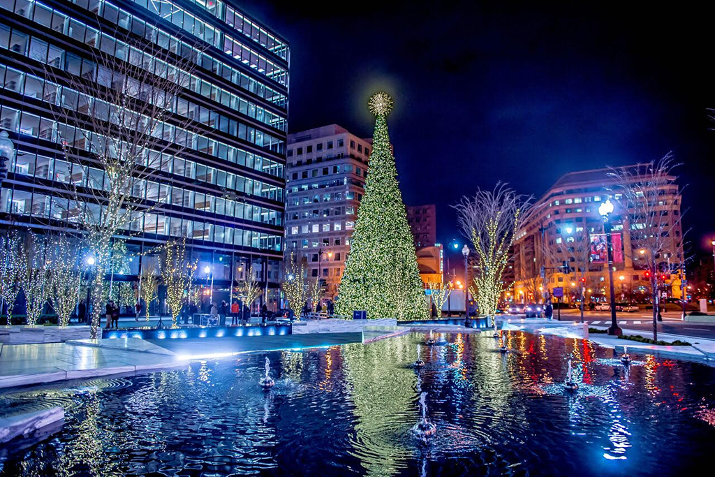 City Center DC - Where To See Christmas Lights In DC And Holiday Decorations