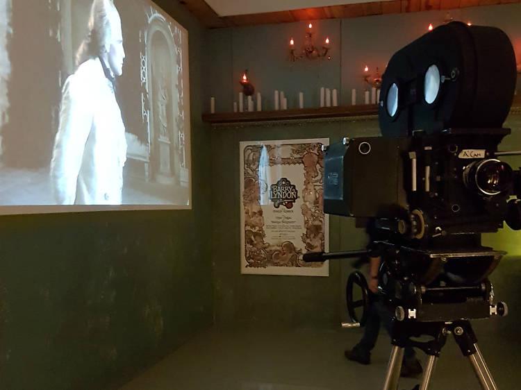 Cámara Mitchell BNC y lentes Carl Zeiss para filmar Barry Lyndon