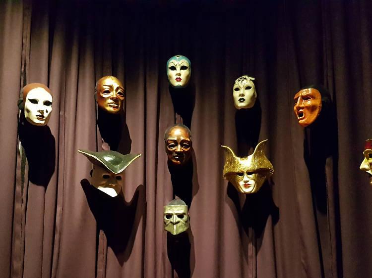 Colección de máscaras de Ojos bien cerrados