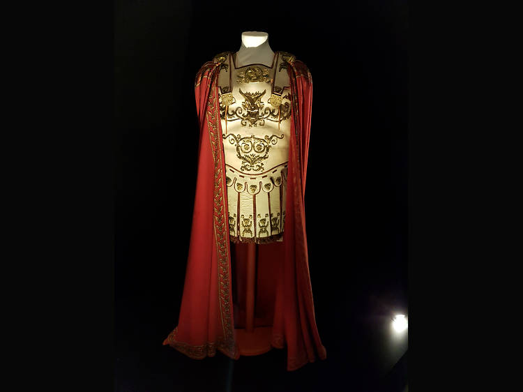 Vestuario de Espartaco