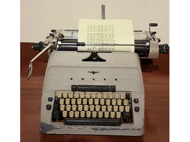 Máquina de escribir de El resplandorStanley Kubrick
