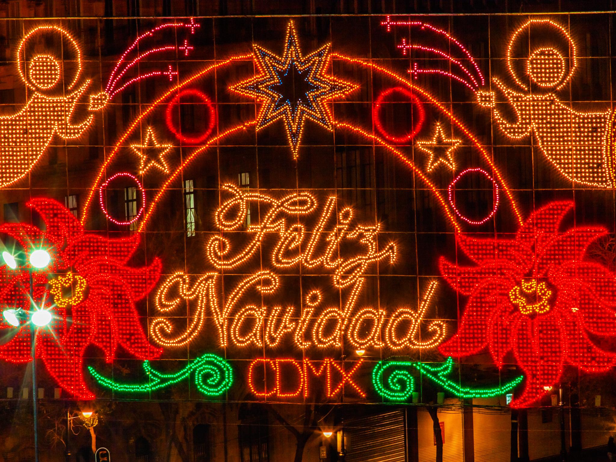 Navidad y Año Nuevo en la CDMX