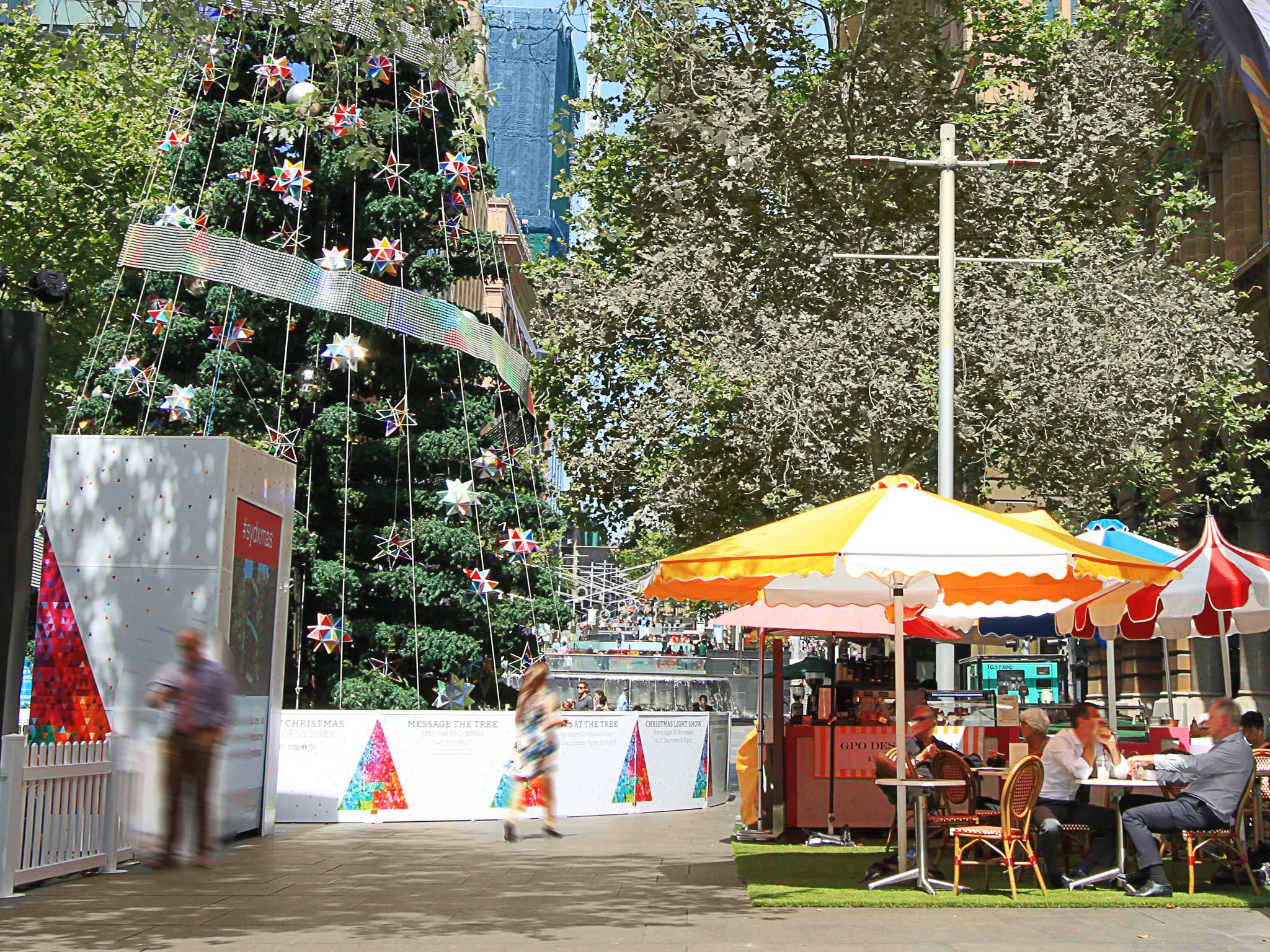 Experience the magic of Christmas in Martin Place