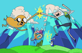 Adventure Time screenshot of Finn and Jake