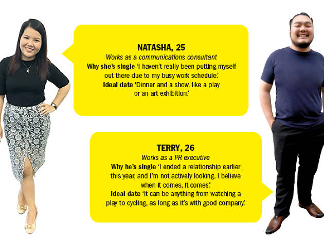Find me a date: Terry and Natasha
