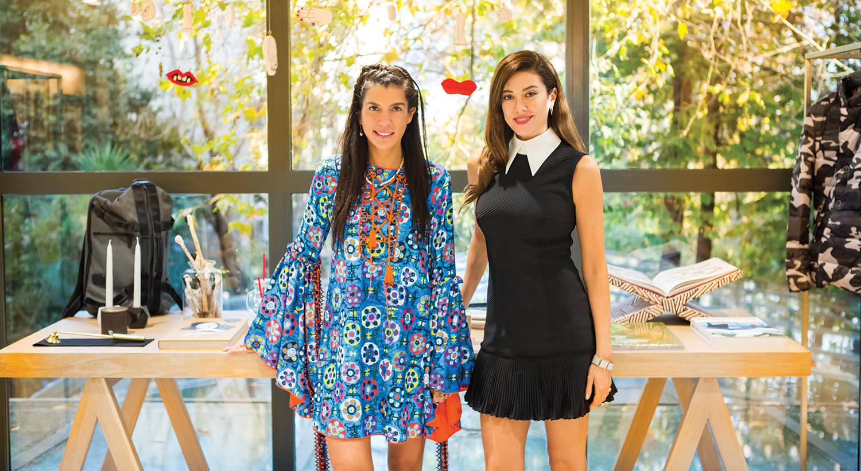 With Başak Dizer Tatlıtuğ and Deniz Marşan on Room + Rumours