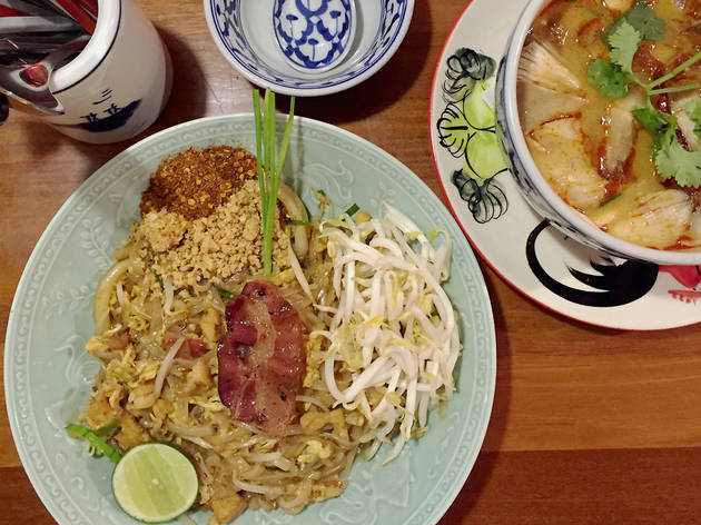 Thai Hou Sek - pad thai bacon (Photo: Lim Chee Wah)