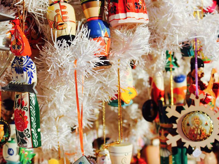 Marché de Noël alsacien à la gare de l'Est