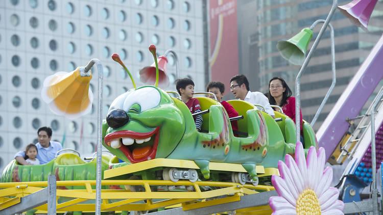 The AIA Great European Carnival – apple coaster