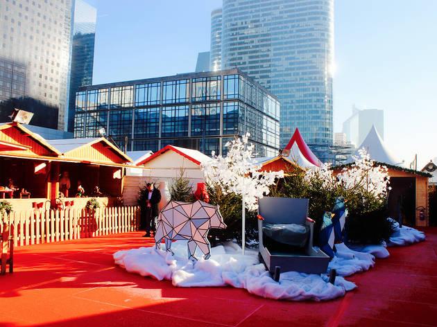 Marché de Noël sur le Parvis de la Défense