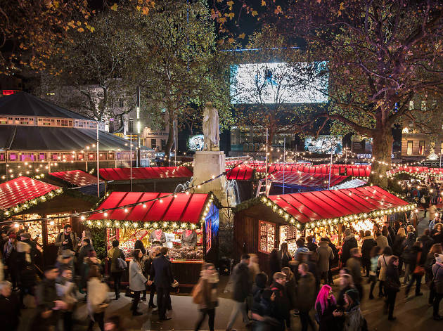 Leicester Christmas Lights 2020 Leicester Square Christmas market 2019: everything you need to