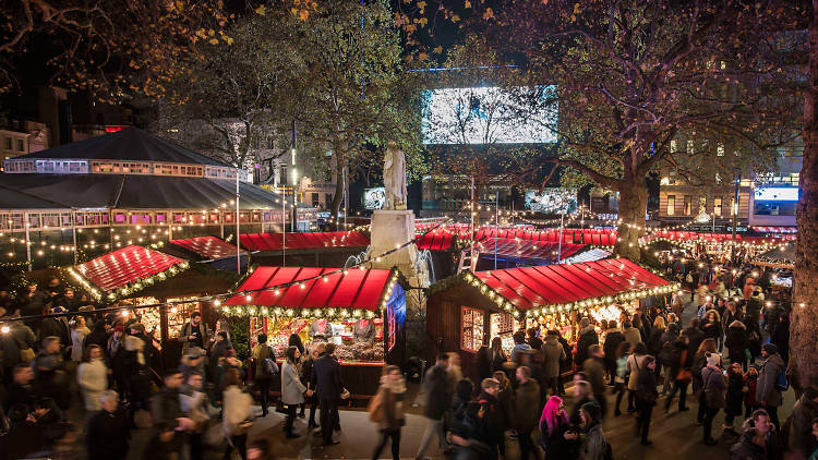 Christmas in Leicester Square
