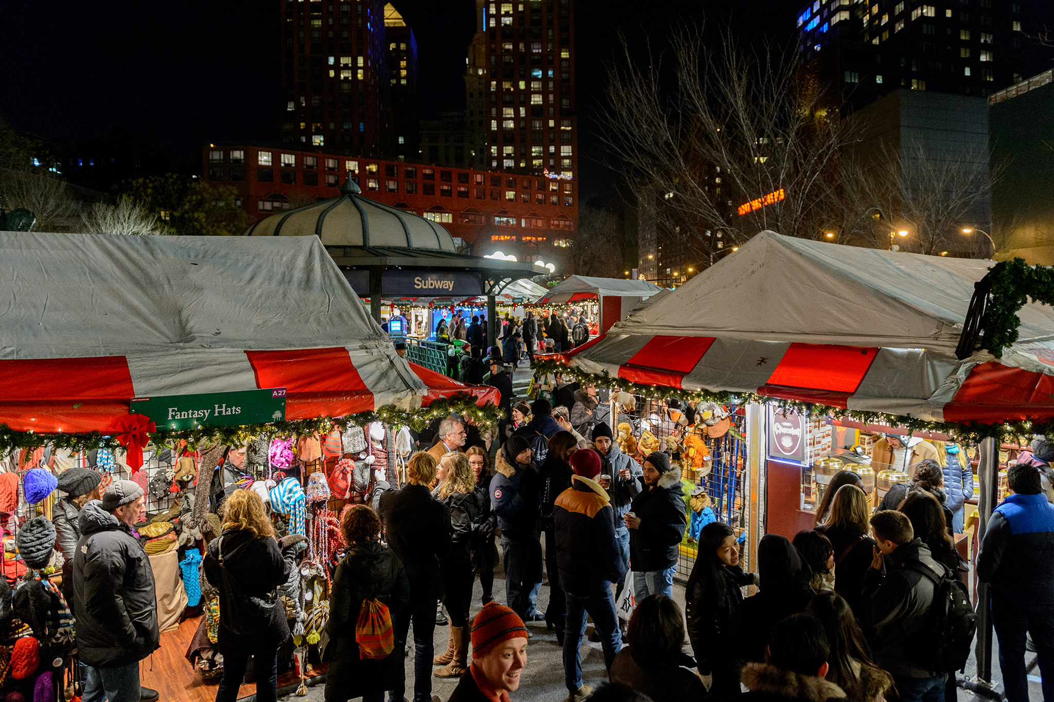 Union Square holiday market