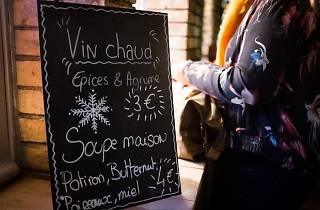 Banya, vin chaud et tartiflette : c'est l'hiver aux Grands Voisins !