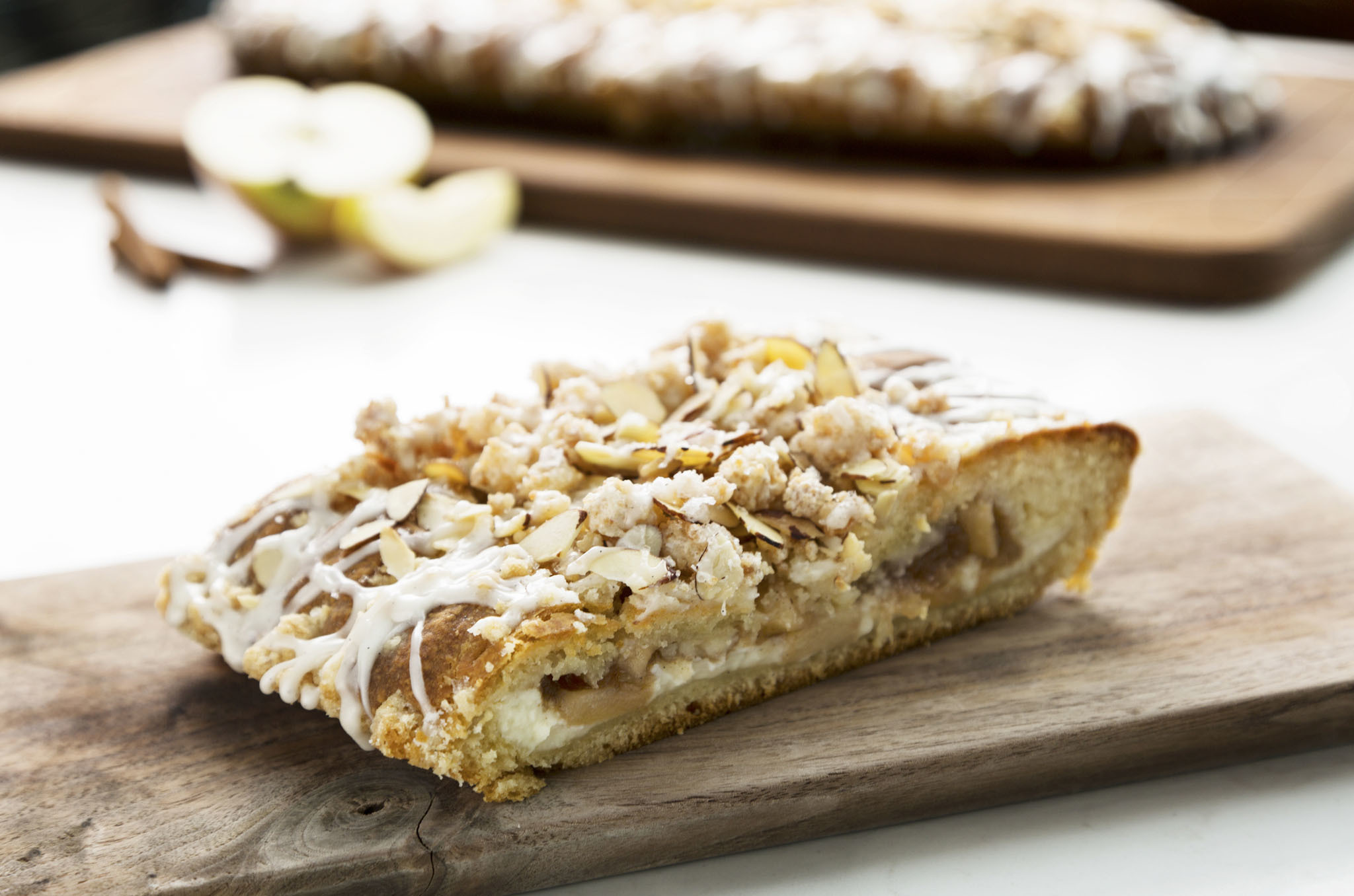 Apple cream cheese Danish at GreenRiver