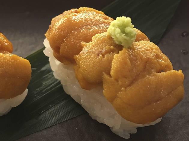 Uni at Naoki Sushi