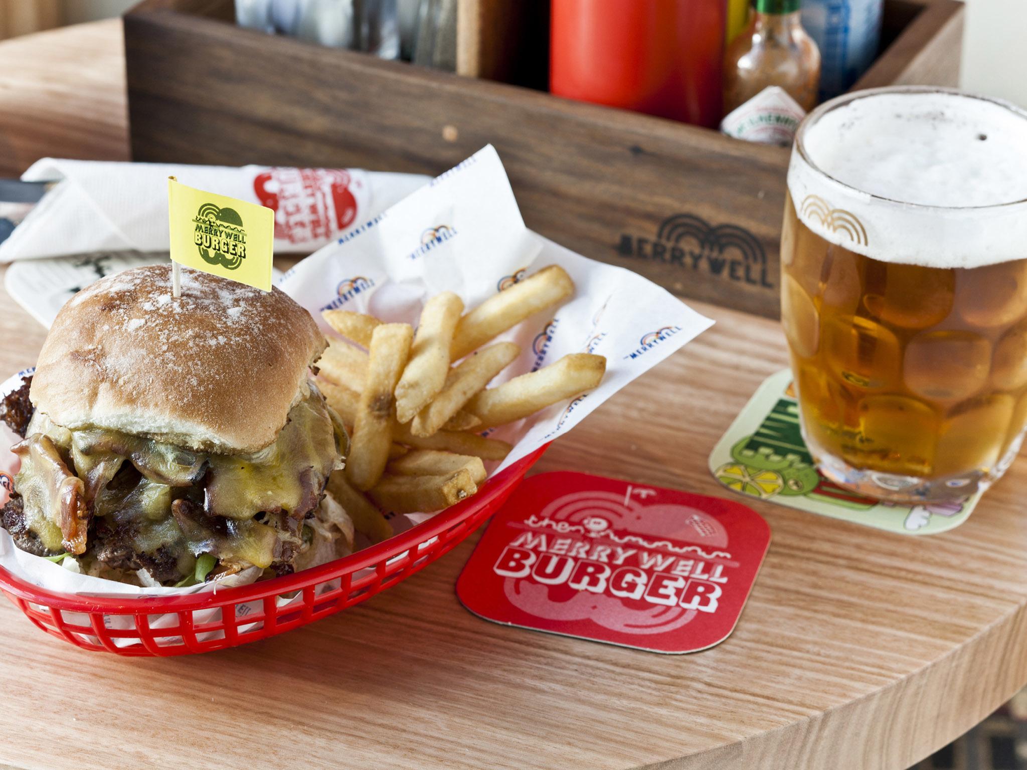 Burgers 'n' Bevvies