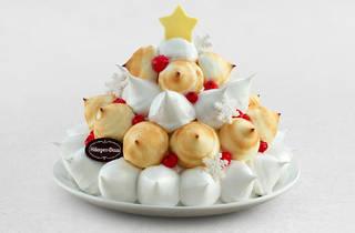 Häagen-Dazs Christmas meringue cake