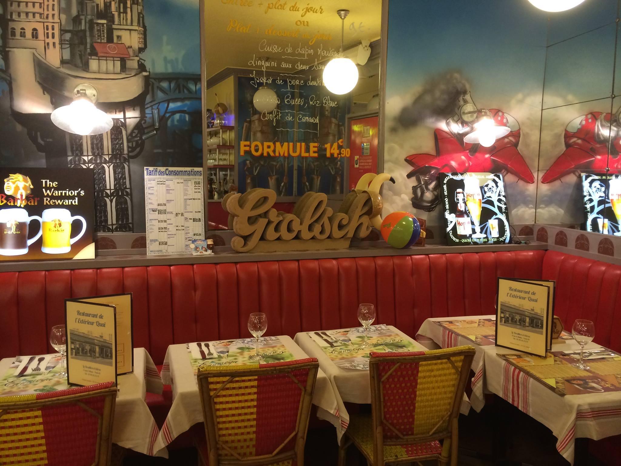 ext rieur quai bouillon de l 39 est restaurants gare de On exterieur quai le bouillon de l est