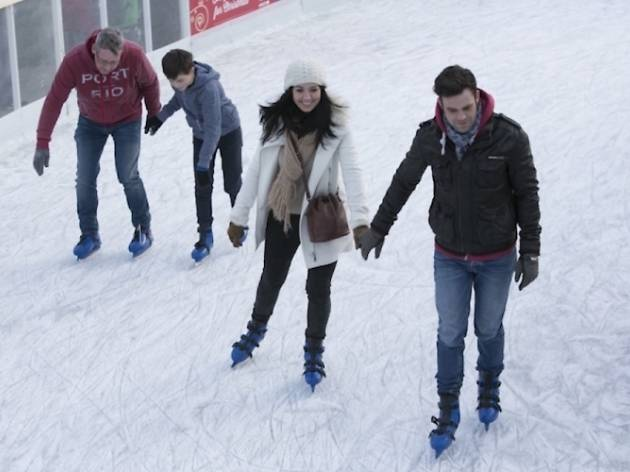Ice Skating at St Andrew Square