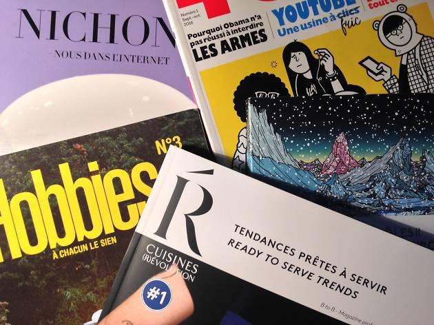 5 revues passionnantes à découvrir : Reliefs, Nichons, Cuisines Révolution, Hobbies et TOPO
