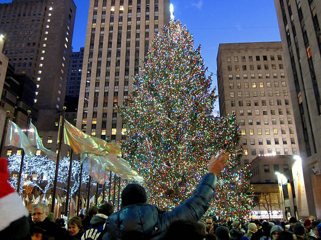 Watch a 24/7 livestream of the Rockefeller Center Christmas Tree