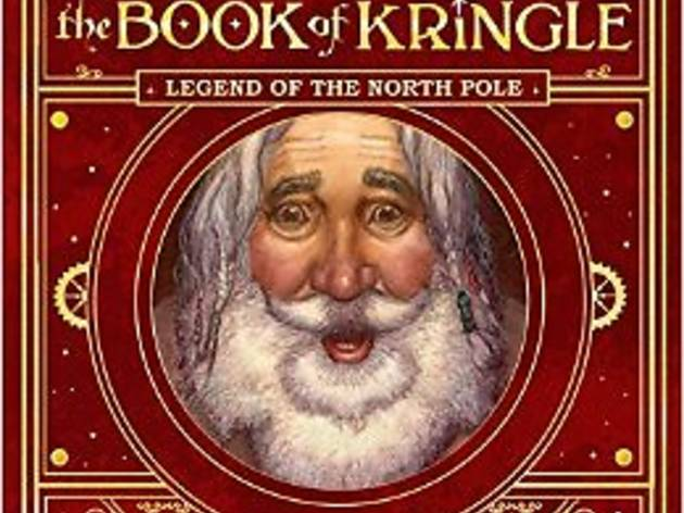 The Book of Kringle by Derek Velez Partridge with Mary Packard, illustrated by David Wenzel