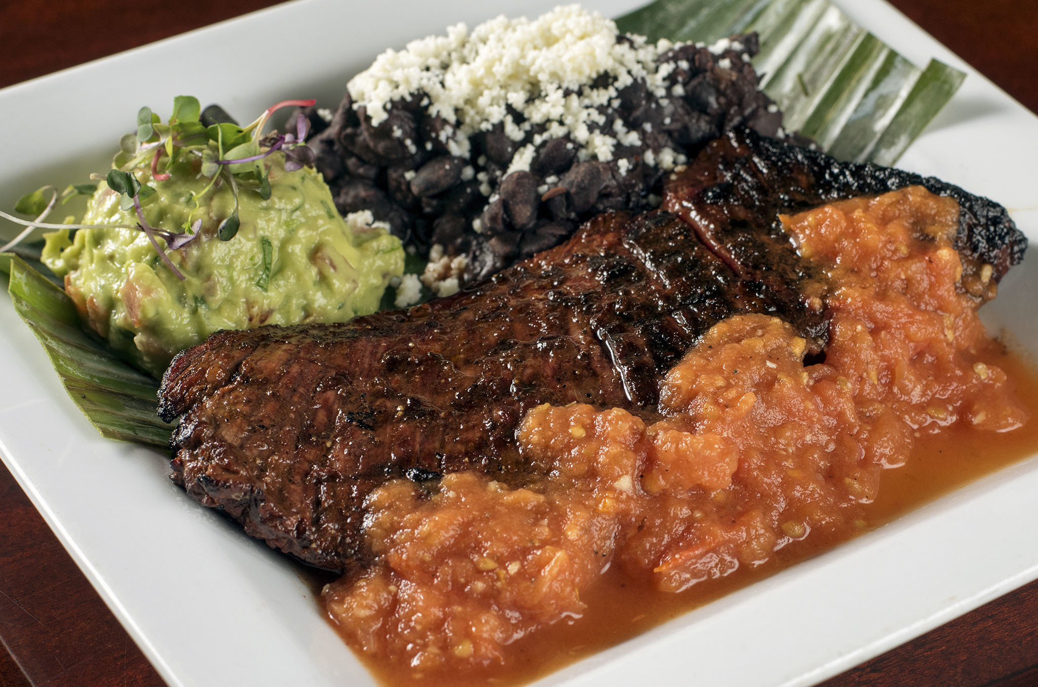 Carne asada at Ixcateco Grill