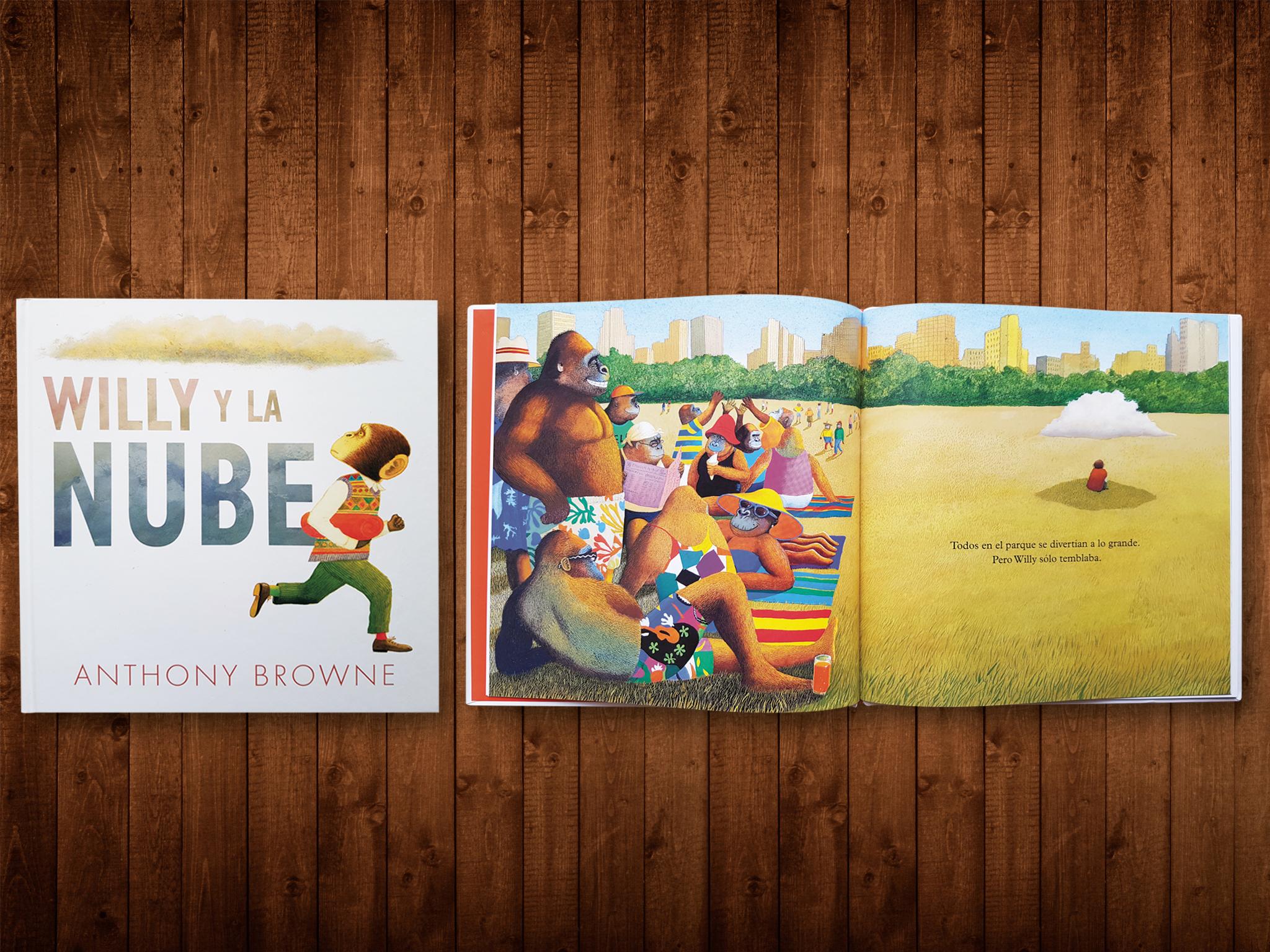 Willi y Nube libro para niños