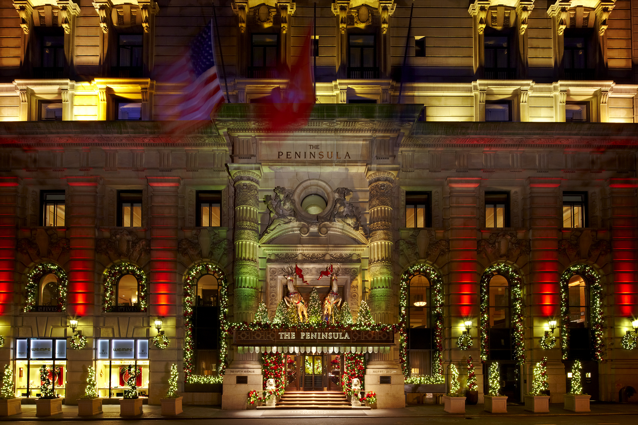 peninsula hotel - New York Christmas Decorations