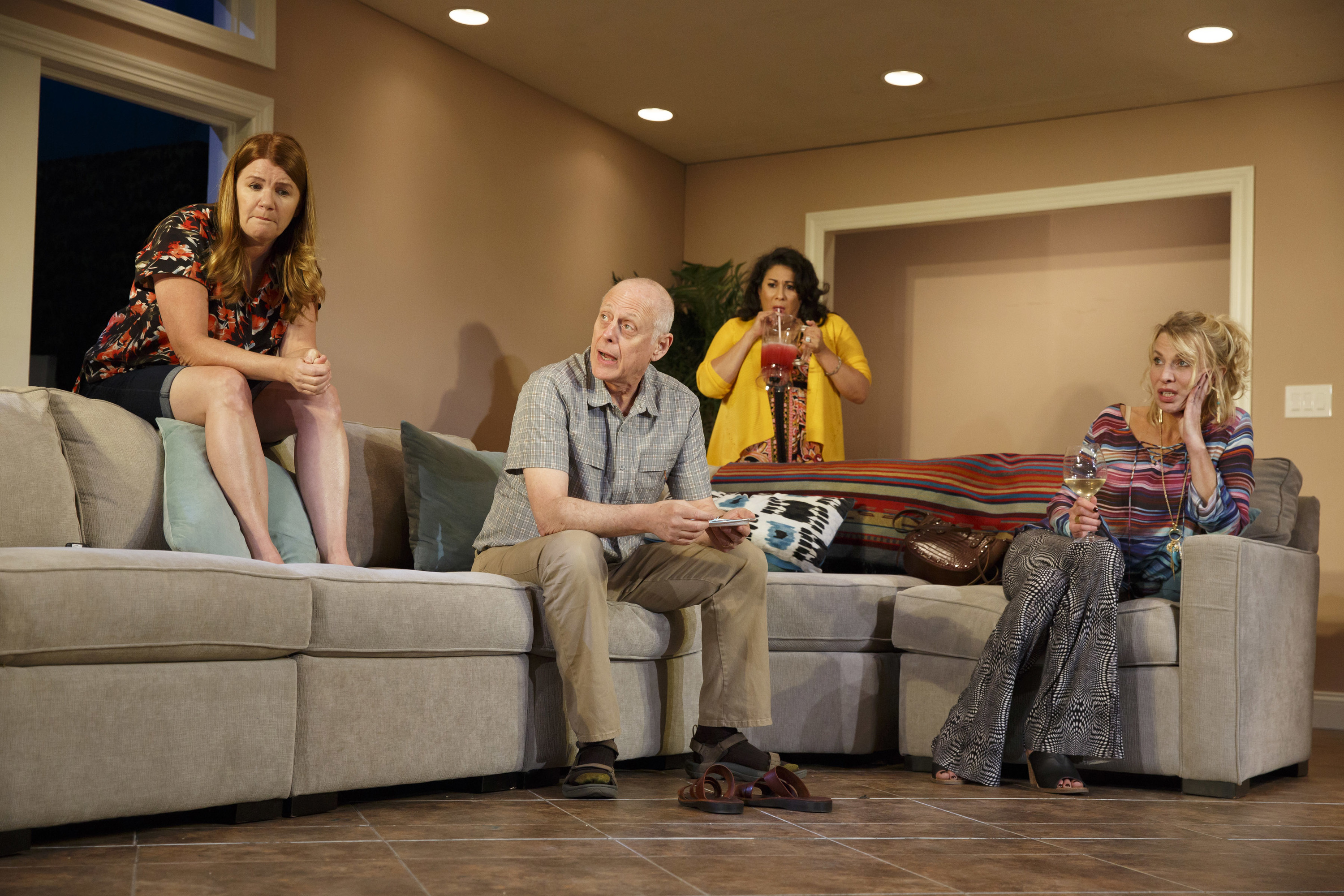 Theater review: In Rancho Viejo, suburbia has never seemed weirder
