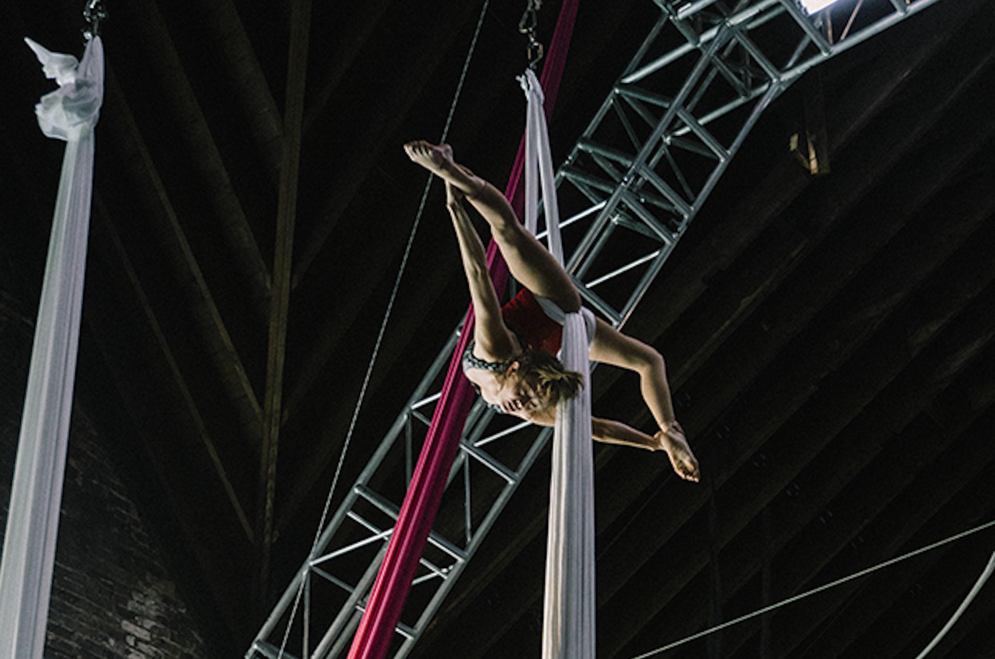 Aerial Silks at Aloft Loft