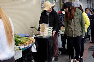 Two women at Cabramatta Markets