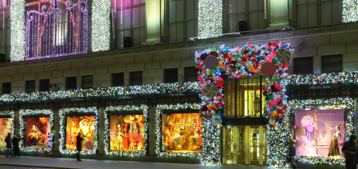 Go on a virtual tour of all the city's best holiday windows
