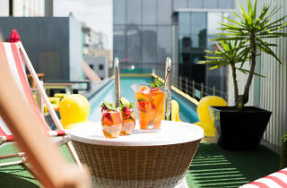 Adelphi Hotel rooftop pool sessions