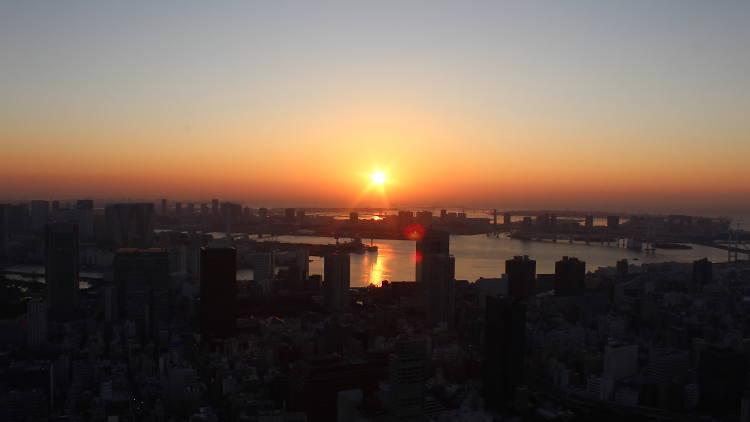 東京、初日の出スポット2017