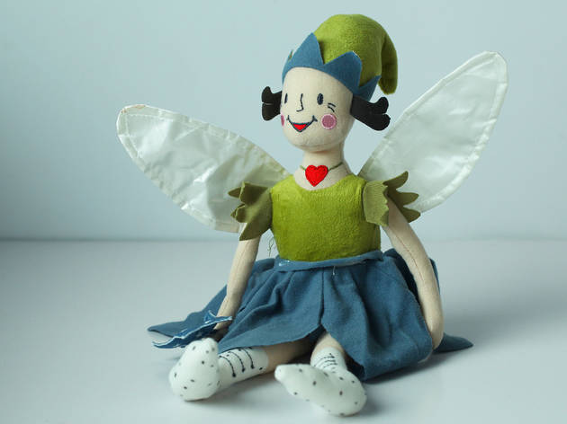 Fairy soft toy