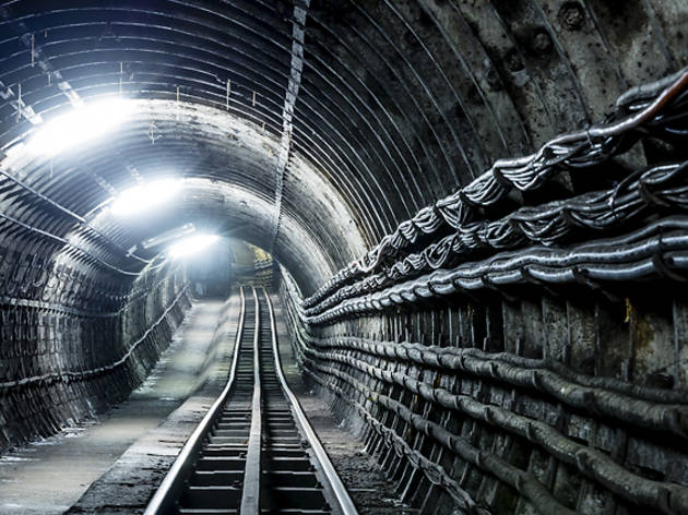 In pictures: see inside London's secret Mail Rail tunnels
