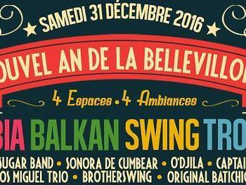 Swing & Balkan beats • NYE at La Bellevilloise