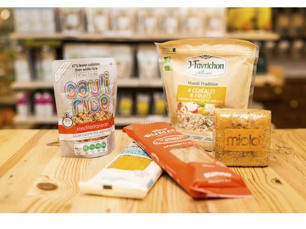 Supermercado Go natural (Fotografia: Manuel Manso)