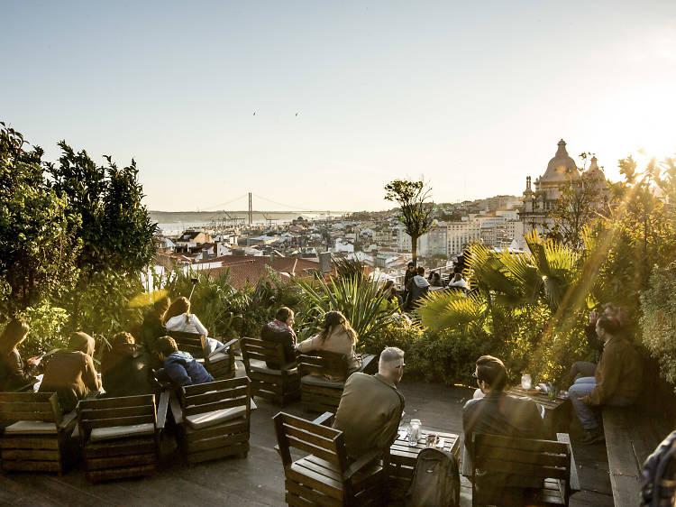 Os bares com melhor vista em Lisboa